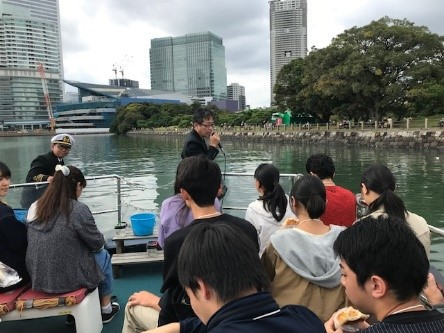 MUAユース委員会事業 小型船とバスで東京探訪!! 「東京の森川海を知る」
