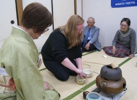 茶の湯体験教室